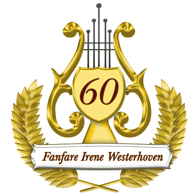 logo-fanfare-irene 60jaar