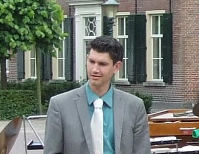 Slagwerk instructeur Martijn Soors