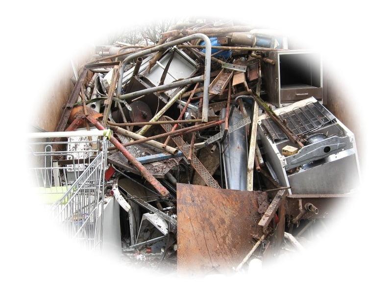 oude metalen en oude elektronica actie